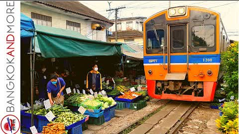 Enjoy The Famous TRAIN MARKET Today   Worth To Visit In 2021?