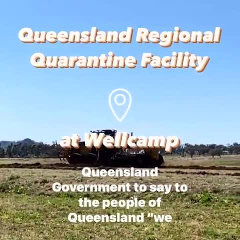 Detention Centers for COVID in Queensland