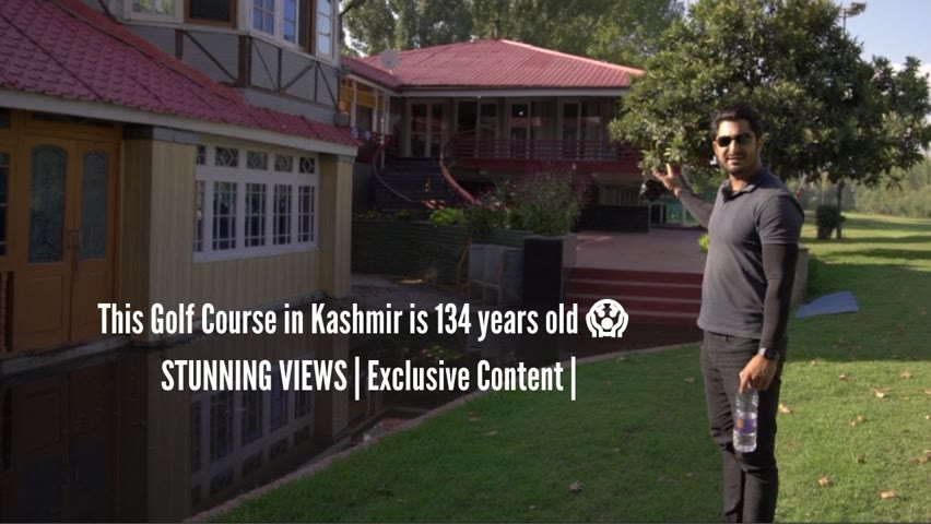This Golf Course in Kashmir is 134 years old 😱  STUNNING VIEWS | Exclusive Content |