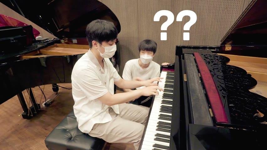 예고생이 피아노 매장에서 꿈빛파티시엘 쳐봤습니다 (금대가리)