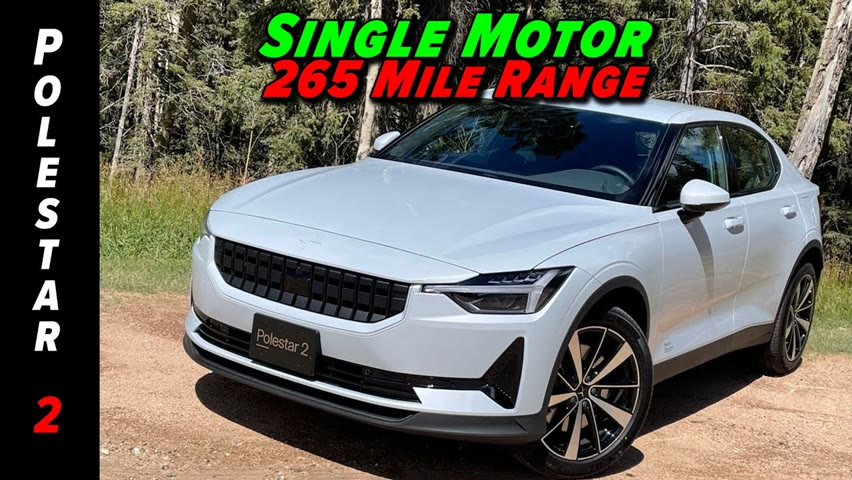 2022 Brings Lower Prices, More Range, And A Single Motor Polestar 2
