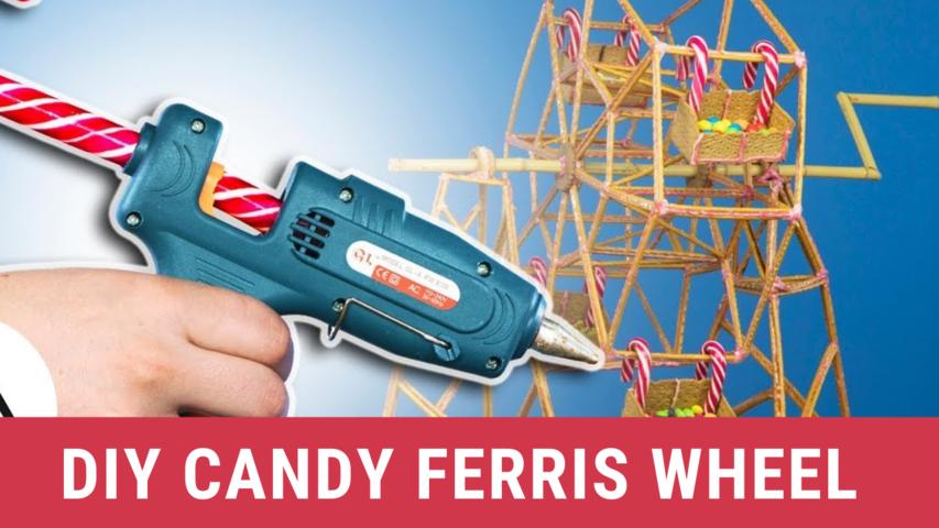 DIY Candy Ferris Wheel
