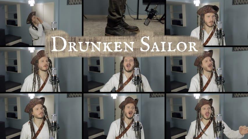 Drunken Sailor Sea Shanty (ACAPELLA) - Jared Halley