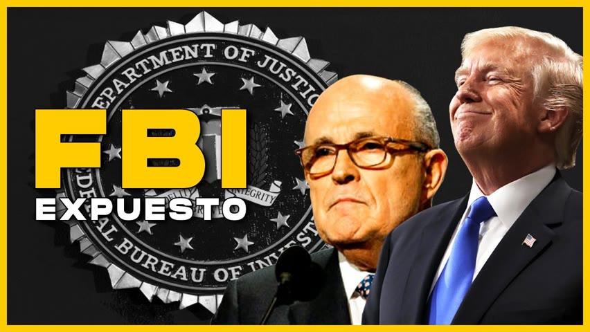 FBI espía a Trump y Giuliani | China busca dominar el control mundial de Internet