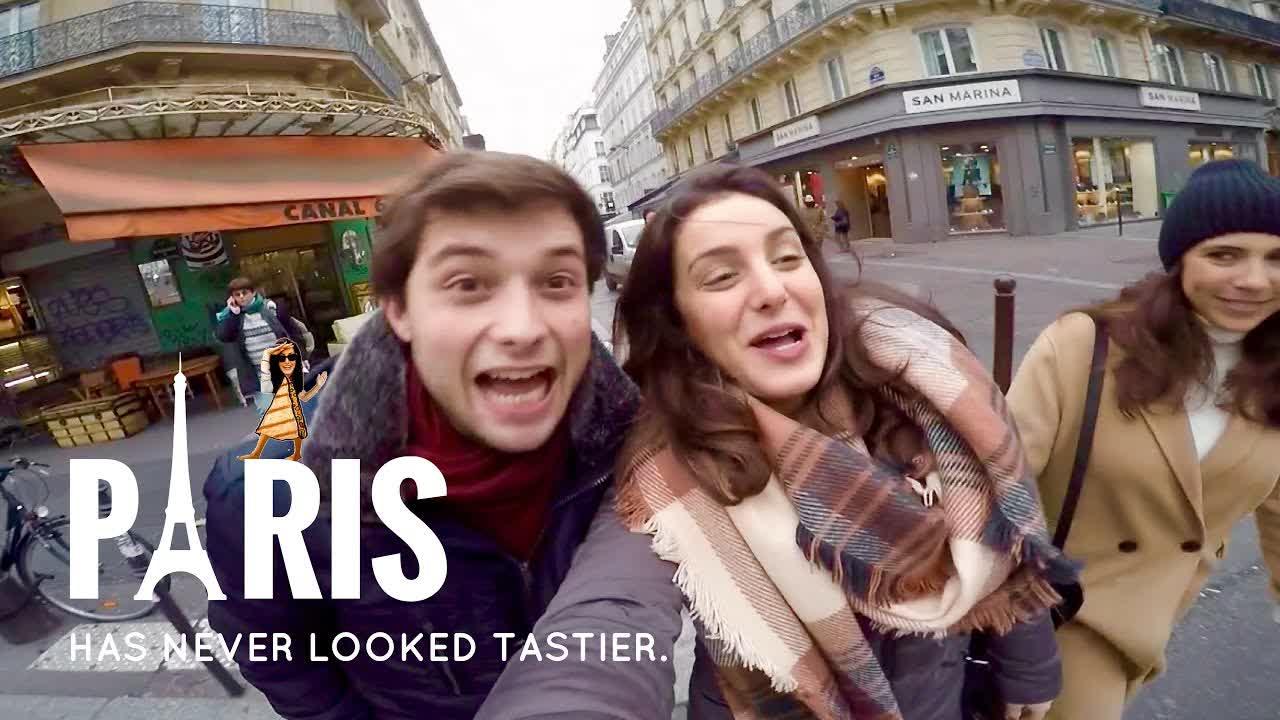 A Hungry Walk through Paris