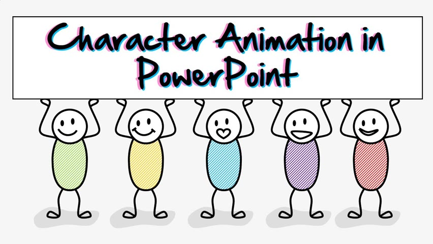 How to make Character Animation in PowerPoint