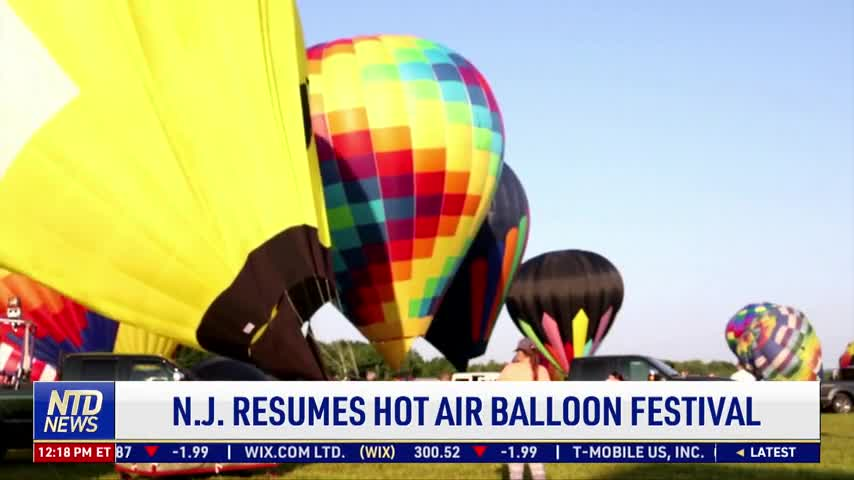 New Jersey Resumes Hot Air Balloon Festival