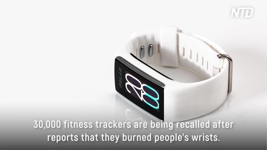 Fitness Tracker Burns Prompt Recall of 30,000 Wristbands