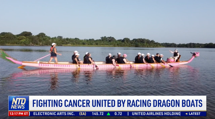 Fighting Cancer United by Racing Dragon Boats