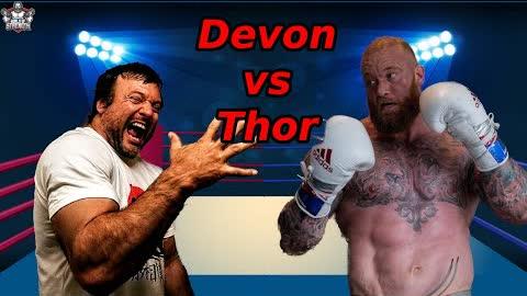 Thor Bjornsson VS Devon Larratt   King of Strongman VS King of Armwrestling