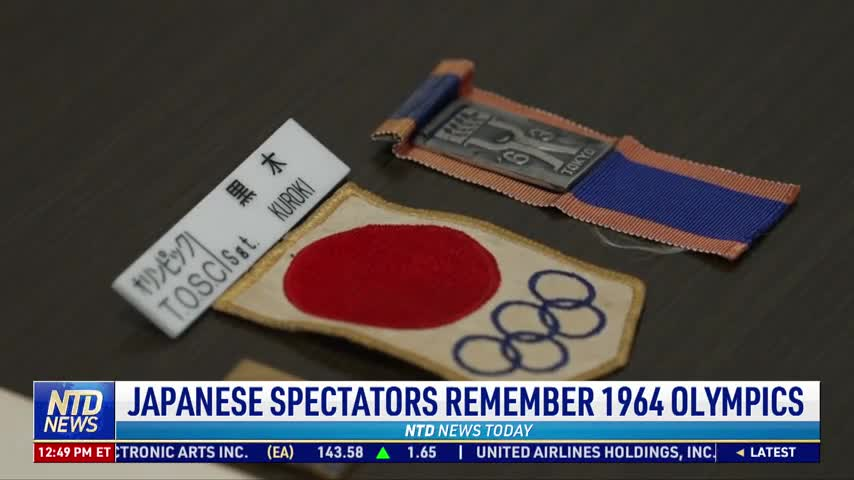 Japanese Spectators Remember 1964 Olympics