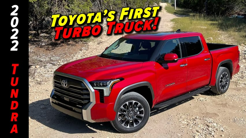 Toyota's New Tundra Is Exactly What We Expected   2022 Tundra First Drive
