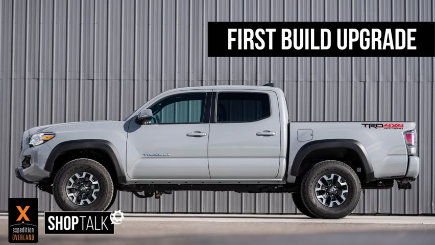EP5 SHOP TALK//First Stock Tacoma Overland Build Mod//Swapping Out The Battery Terminal & Fuse Box