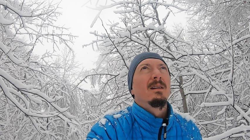 Pădurea plină de zăpadă - Peisaj de basm