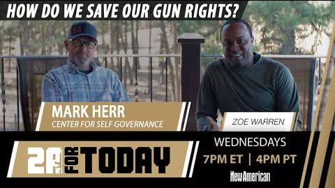 HOW DO WE SAVE OUR GUN RIGHTS? - with guest Mark Herr   2A For Today!