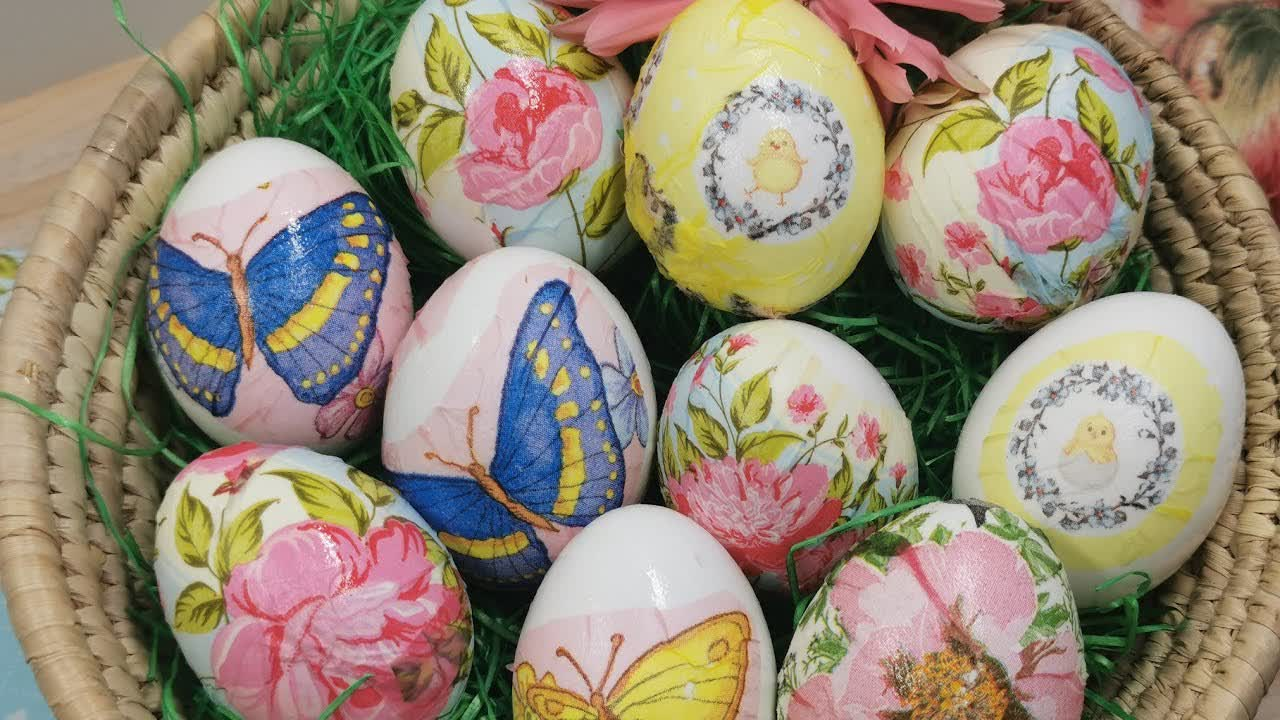 Ostereier färben - einfach, schnell und wunderschön! Eier färben