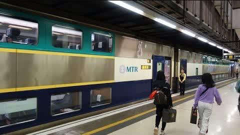 Hong Kong to Guangzhou by Intercity through train