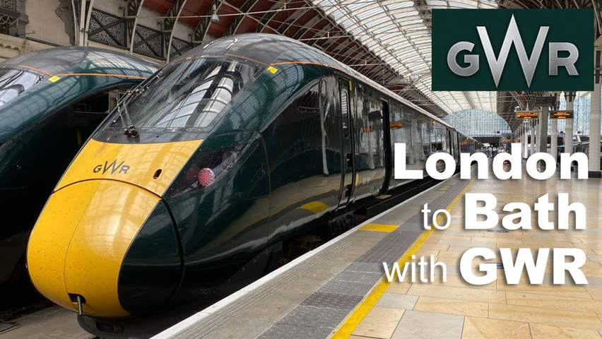 A day trip from London to Bath by train
