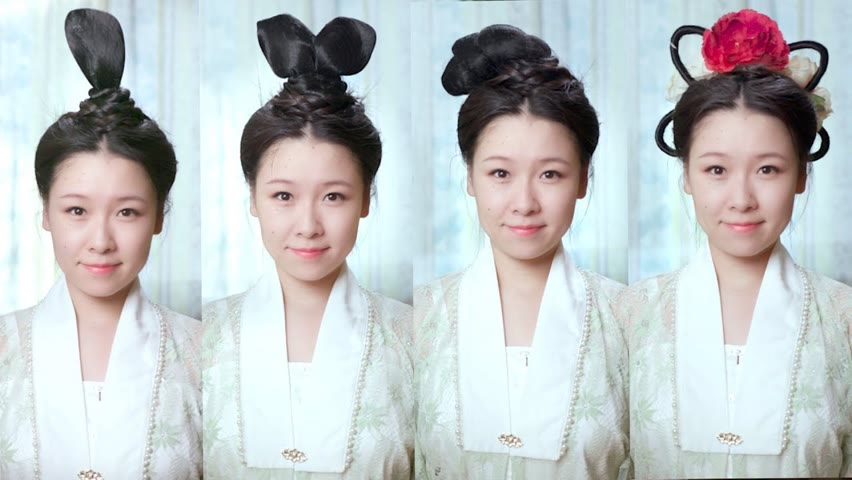 How to Create Ancient Chinese Hairstyles
