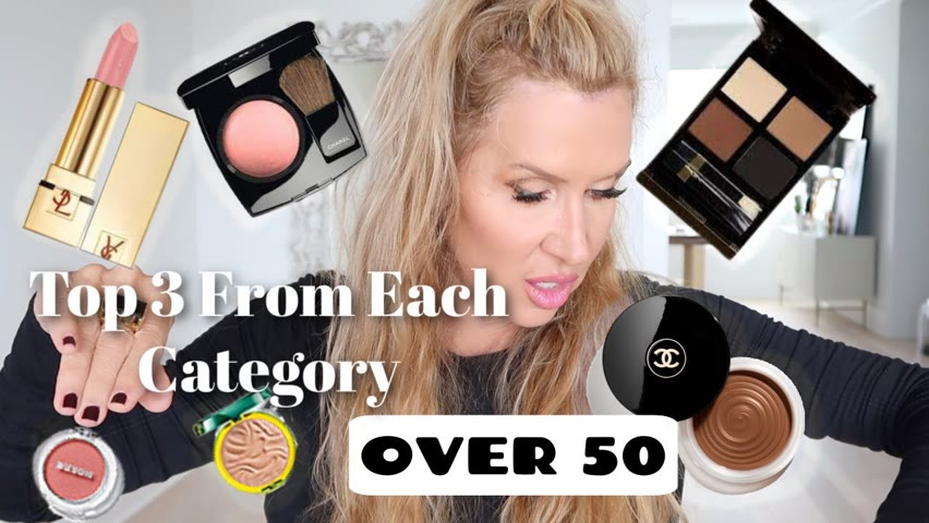 Top 3 Products From Each Makeup Category   Over 50