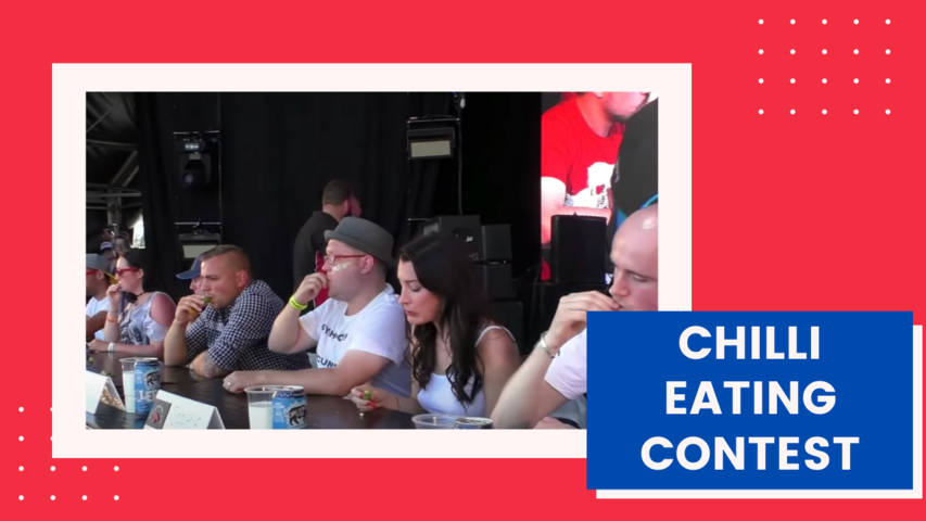 Chilli Eating Contest