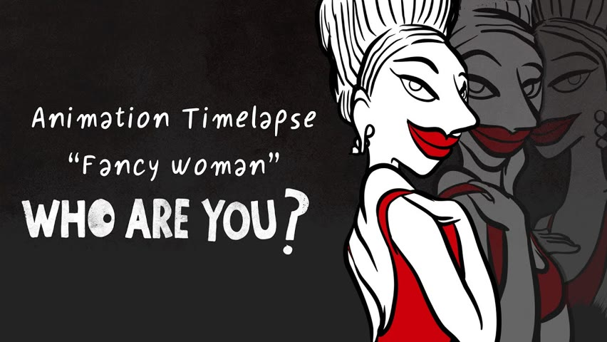 """Timelapse """"Fancy woman"""", of the short-film """"Who are you?"""""""