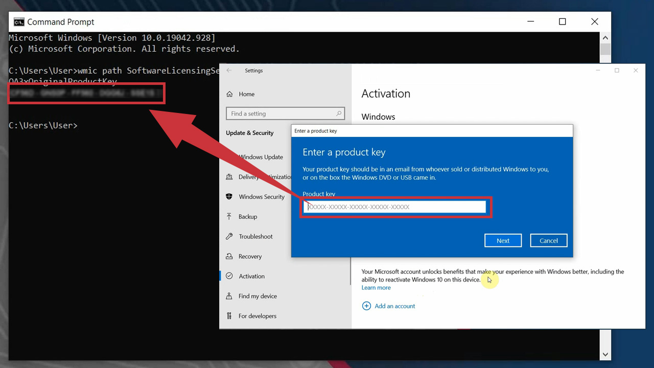 How to Locate Windows 10 Product Key on Computer