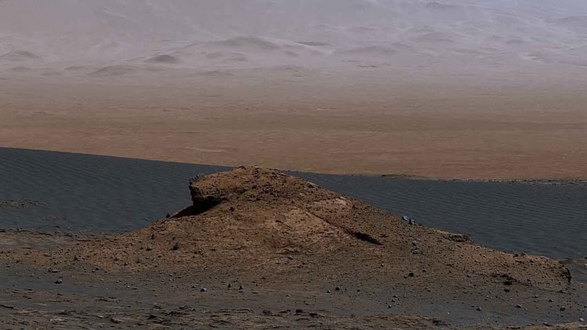 NASA's Curiosity Mars Rover Finds A Changing Landscape