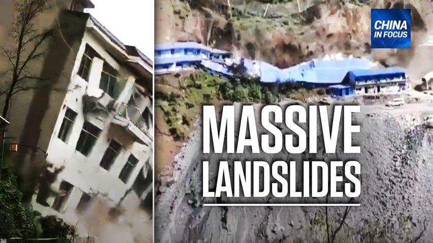Landslides bury houses, residential buildings; US funded virus research in Wuhan: report