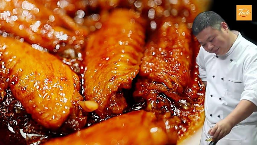 Easy, Fall-off-the-Bone Chicken Wings Dinner | 鸡翅这样做太香了,全程小技巧 • Taste Show