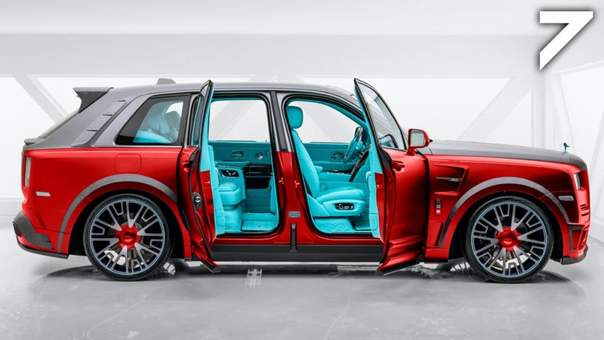 TOP 7 Most EXPENSIVE LUXURY SUVs For 2020 and 2021