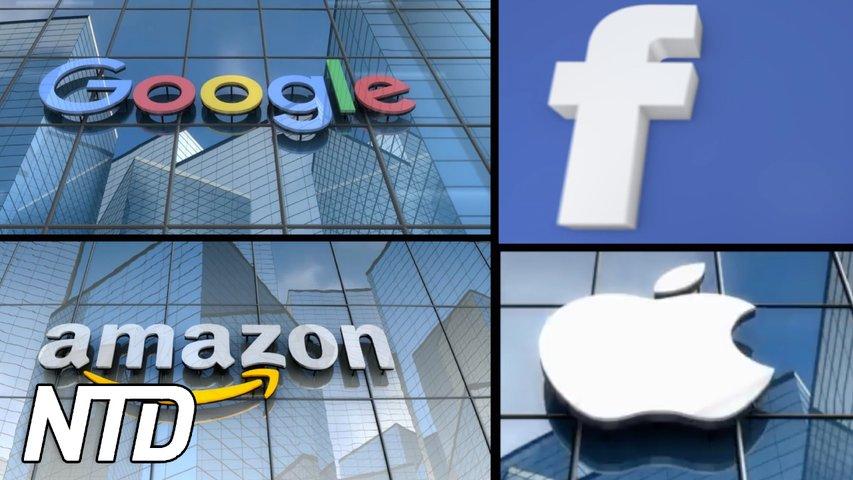 Båda partierna försöker bryta techmonopolen    NTD NYHETER