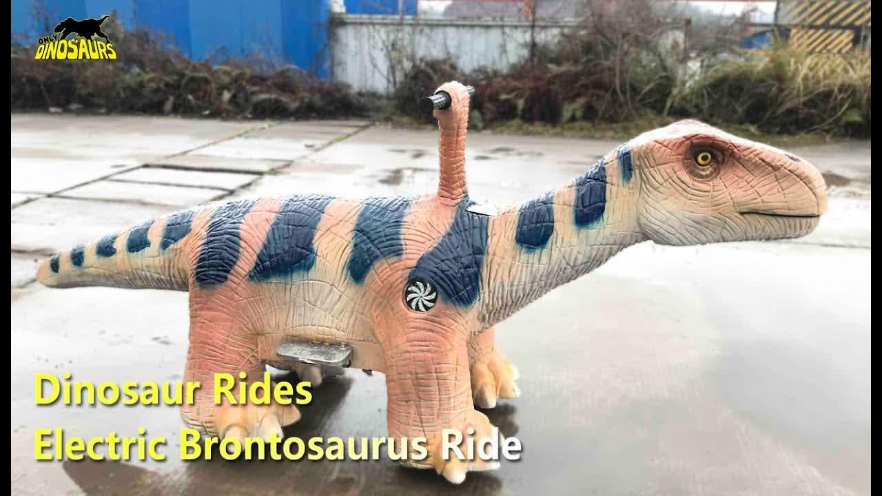 Electric Brontosaurus Ride for Amusement Park | Dinosaur Rides