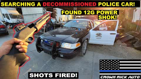 Searching An Old Police Car found 12g FEDERAL POWER SHOK!