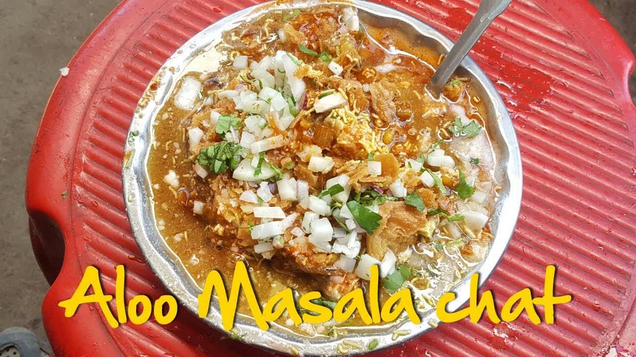 Best Street Food  | Street Food | Aalu Masala Chat | Tamatar Chaat | Aloo Tikki chat | आलू चाट