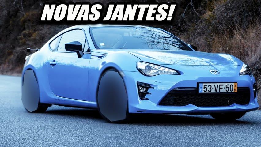 AS NOVAS JANTES DO GT86 E UM GIVEAWAY PARA VOCÊS🔥