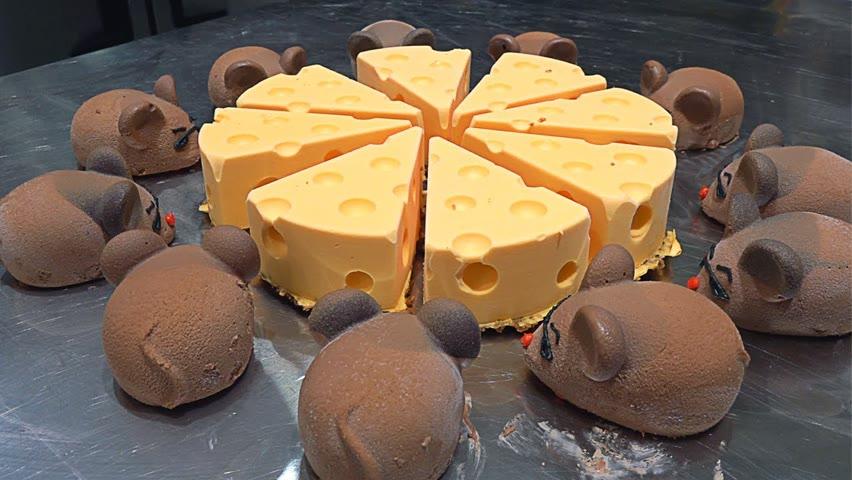 초코쥐 케이크?! 톰과제리 치즈케이크, 이색 디저트로 대박난 가게 Chocolate Mousecake, Tom & Jerry Cheesecake