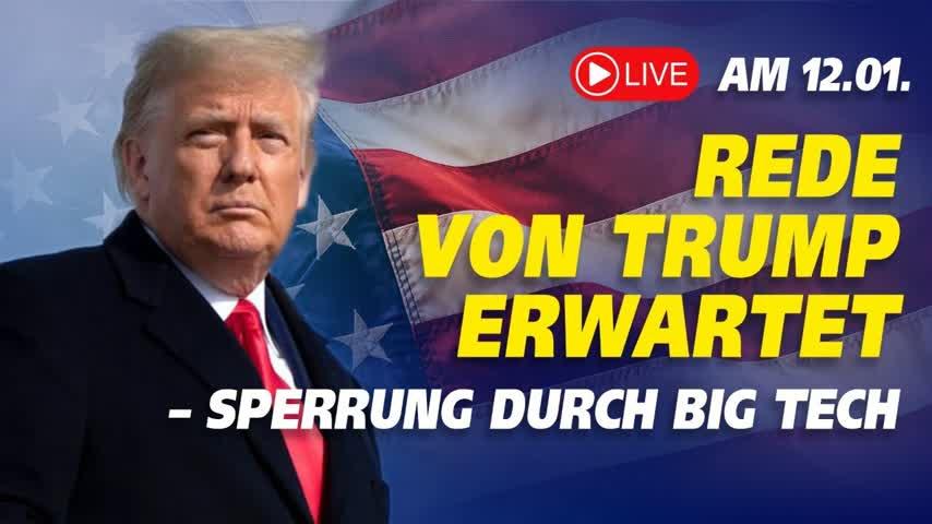 LIVE: Trump reist nach Alamo – Rede um 21.00 Uhr erwartet | 12.1.2021