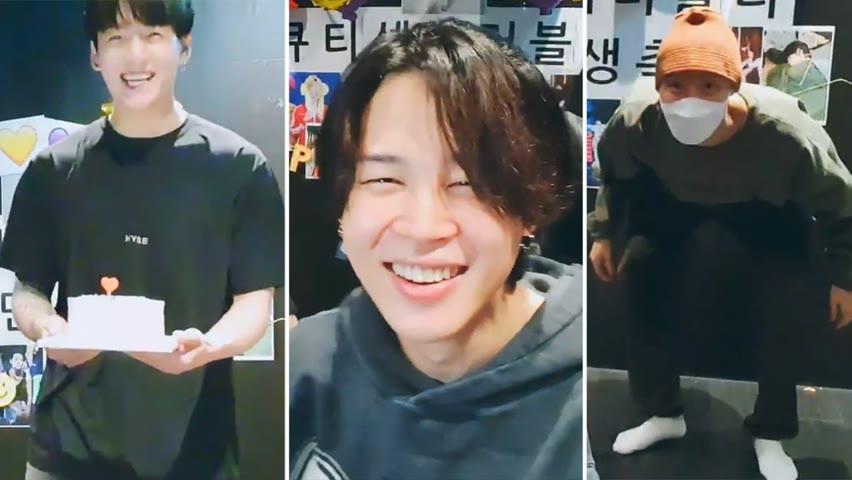 [CC] [ENG SUB] BTS JUNGKOOK & J-HOPE AT JIMIN BIRTHDAY VLIVE STREAM [INDO/THAI] 2021