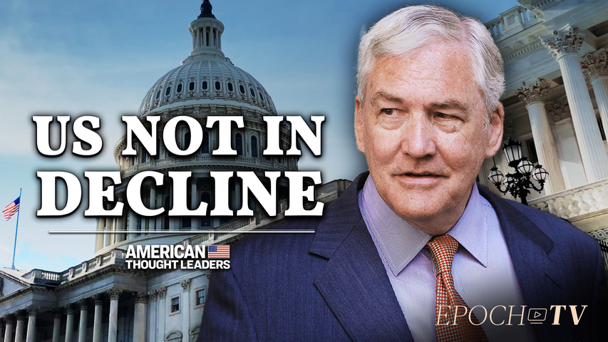 Conrad Black: The US 'Not in Decline' | CLIP | American Thought Leaders
