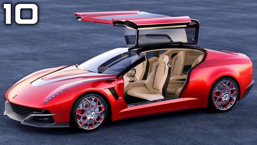 TOP 10 Coolest Cars Designed by ITALDESIGN