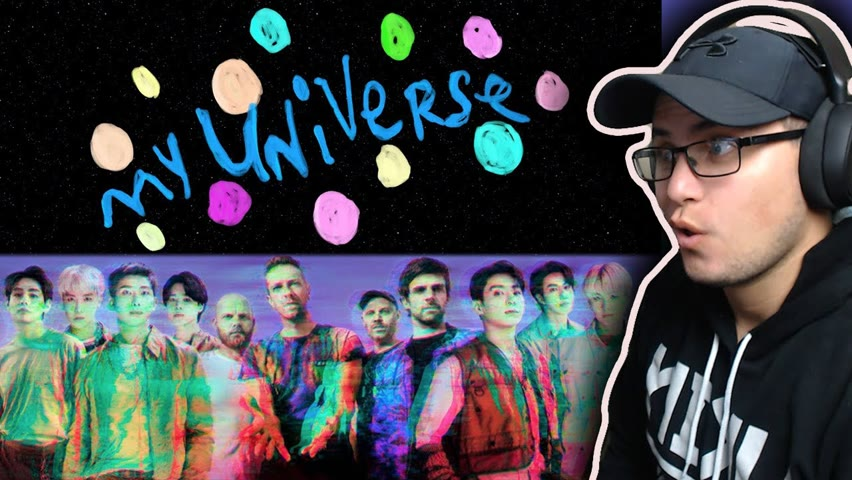 [CC] [SUBTITLES] AMAZING COLLAB!!! l Coldplay X BTS - My Universe (Official Lyric Video) REACTION