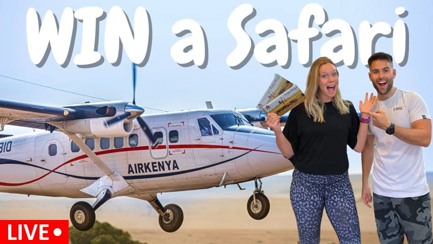 🔴LIVE GIVEAWAY🚨 WIN AN ALL INCLUSIVE SAFARI TRIP AND CA$H
