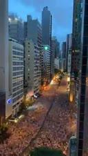 6月9日過百萬香港人遊行縮時片段。好震撼