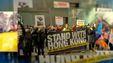 GLOBAL HONG KONG PROTEST SUPPORT RALLIES