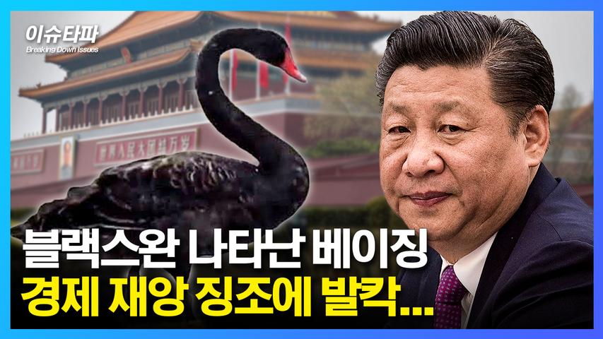 블랙스완 나타난 베이징… 경제 재앙 징조에 발칵… - 추봉기의 이슈타파