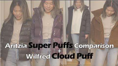 Aritzia Super Puff Review + Wilfred Cloud Puff