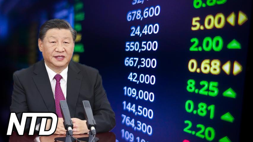 Kina öppnar börs i Peking | NTD NYHETER