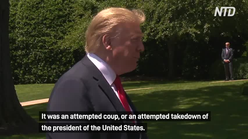 Trump Declassifies Russia Probe Docs