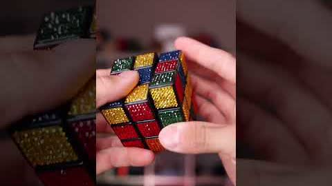 MOST Expensive 3x3 Rubik's Cube! (Crystals)